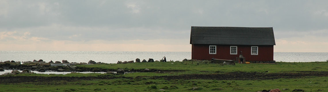 Boathouse in Björkenäs