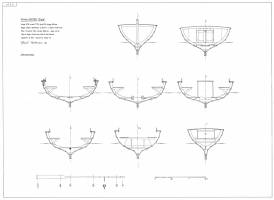 Drawings of the boat