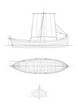 105 - Nordlandsbåt, färing
