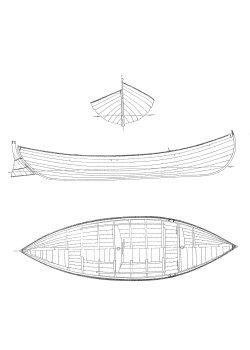 91 - Vänersnipa Laxbåt