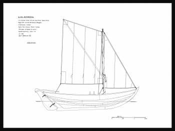 14A - Segelritning blekingseka