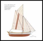 33A - Segelritning lotsbåt 'Skum'