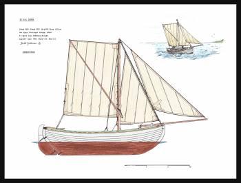 63A - Sail plan skånesnipa