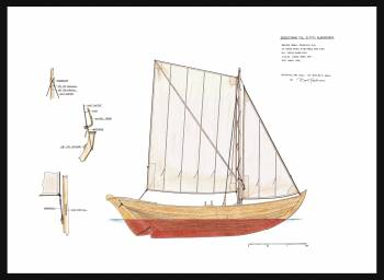 75D - Sail plan blekingseka