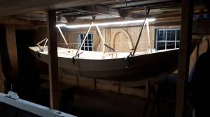 Lighting in the boat house