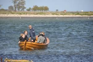 Sjösättning av Mattias Klum's blekingekoster