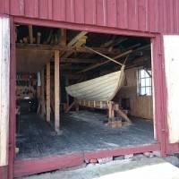 Öppet hus i sjöboden under sparrissafarin