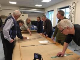 Workshop at boatbuilding school